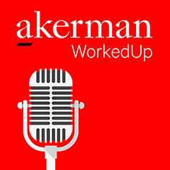 Akerman Podcast Logo