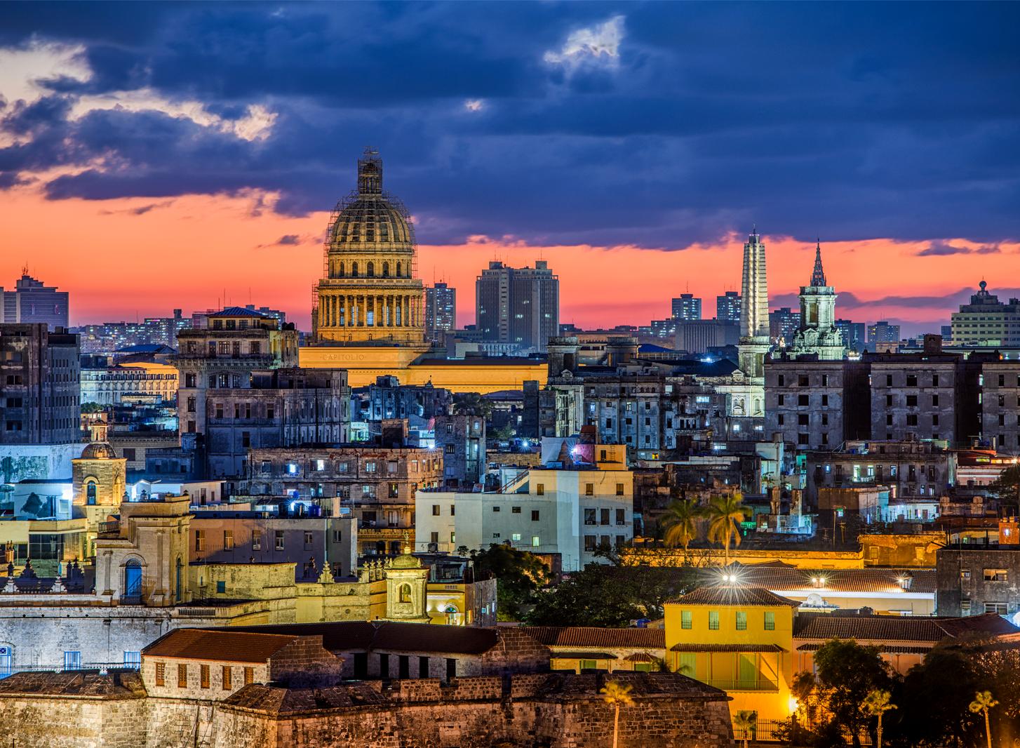 This is an image of Havana, Cuba